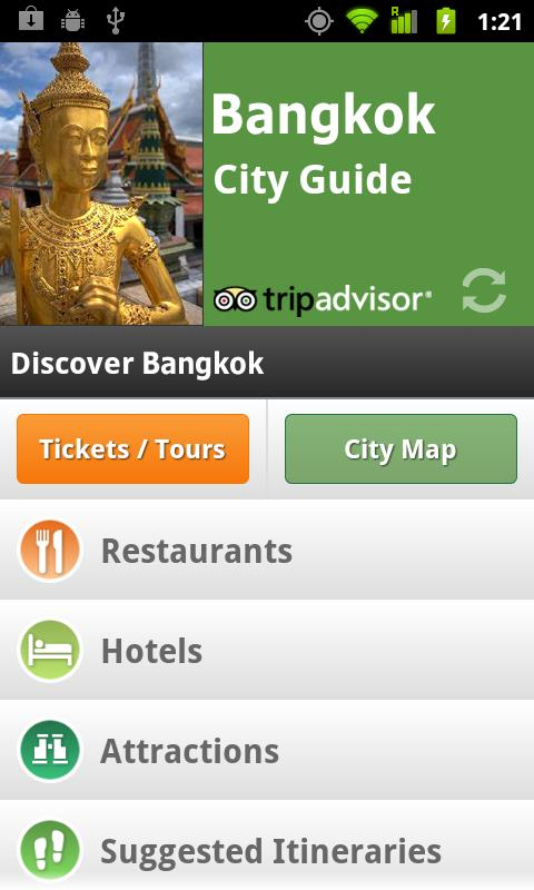 Bangkok City Guide screenshot #1