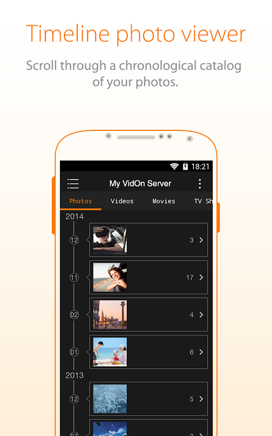 VidOn Cloud- screenshot