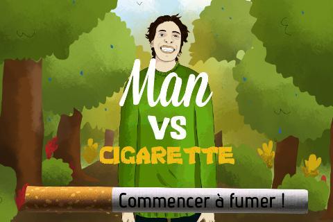 Man VS Cigarette Free