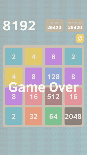 2048 Letters Numbers