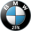 BMW Battery Widget FREE NO ADS icon