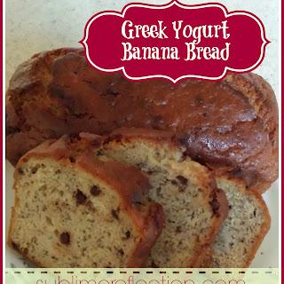 Greek Yogurt Banana Bread.