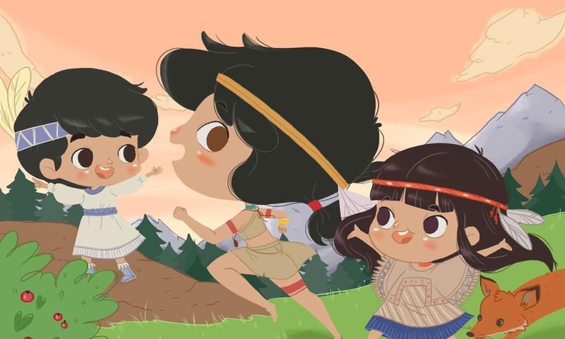 L'histoire de Pocahontas - screenshot
