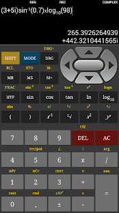 HF Scientific Calculator - screenshot thumbnail