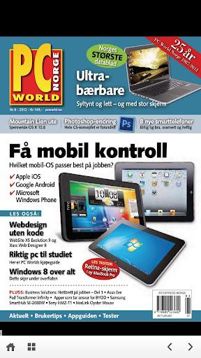 【免費新聞App】PC World Norge-APP點子