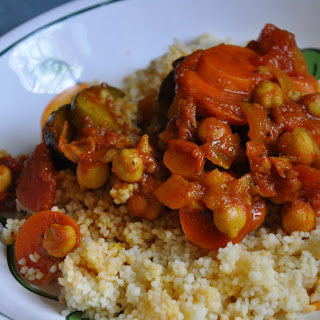 Moroccan Vegetable Couscous.
