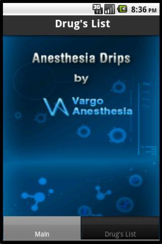 Anesthesia Drips