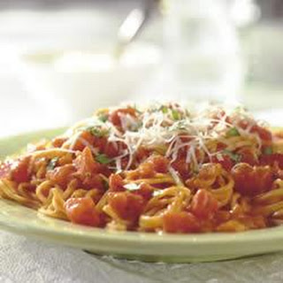 Angel Hair with Tomato-Cream Sauce