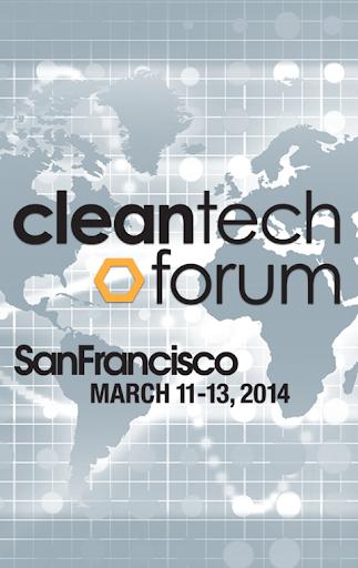 Cleantech Forum SF 2014