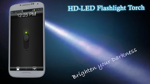HD-LED Flashlight Torch