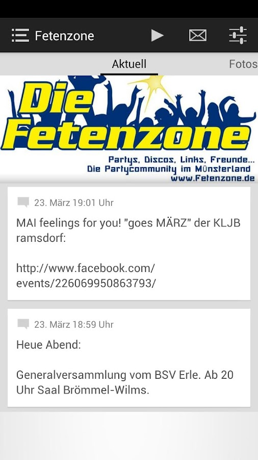 Fetenzone - Münsterland - screenshot