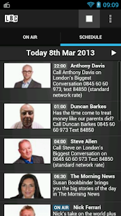 LBC Radio App - screenshot thumbnail