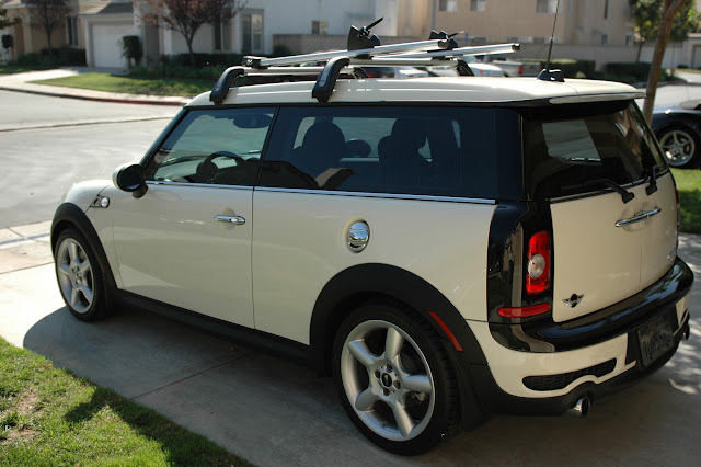 My Pw Pw Mini Clubman With Oem Base Rack And Fork Mount