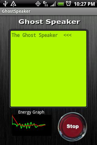 Ghost Speaker - screenshot