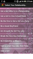 Screenshot of Love Tips