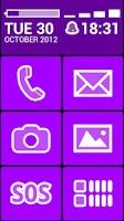 Screenshot of BL Violet Theme