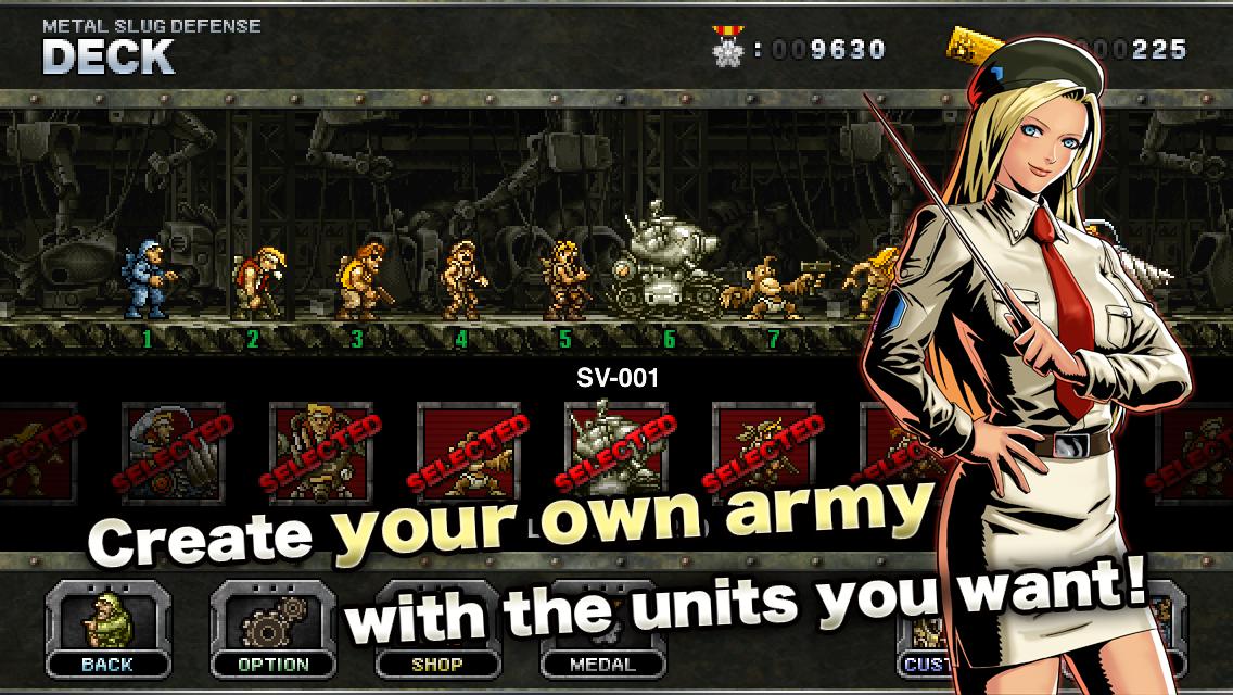 METAL SLUG DEFENSE screenshot #15