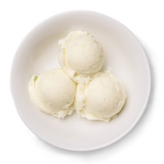 Yogurt-Lime Sorbet.
