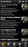 Screenshot of Scottish Whisky News