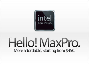 hello, MaxPro!