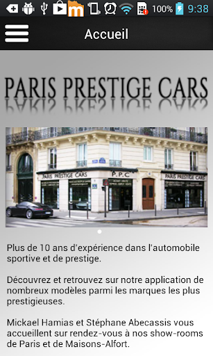Paris Prestige Cars