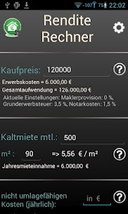 Yield Calculator - screenshot thumbnail