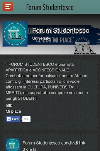 Forum Studentesco APP