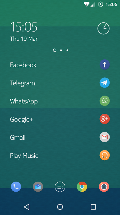 Numix Circle icon pack- screenshot