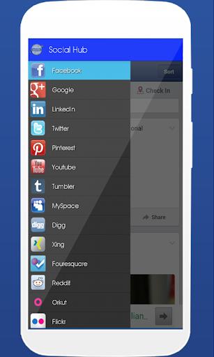 Social Hub(Free) 社交 App-愛順發玩APP