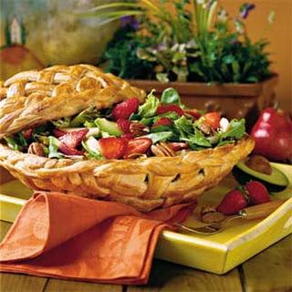 Strawberry-Chicken Salad.