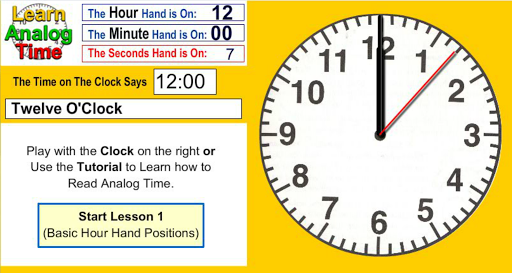 Learn Analog Time Apk Download 7