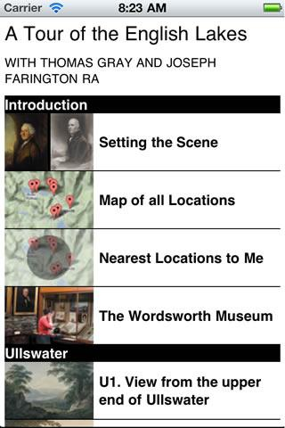 A Tour of the English Lakes- screenshot