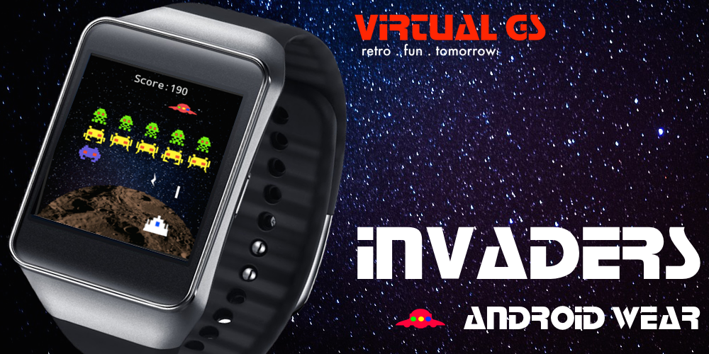 Invaders (Android Wear)- screenshot