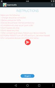 GServiceFix Screenshot 13