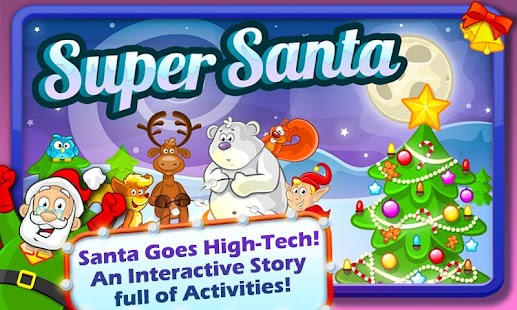 Super Santa XMAS Story & Games- screenshot thumbnail