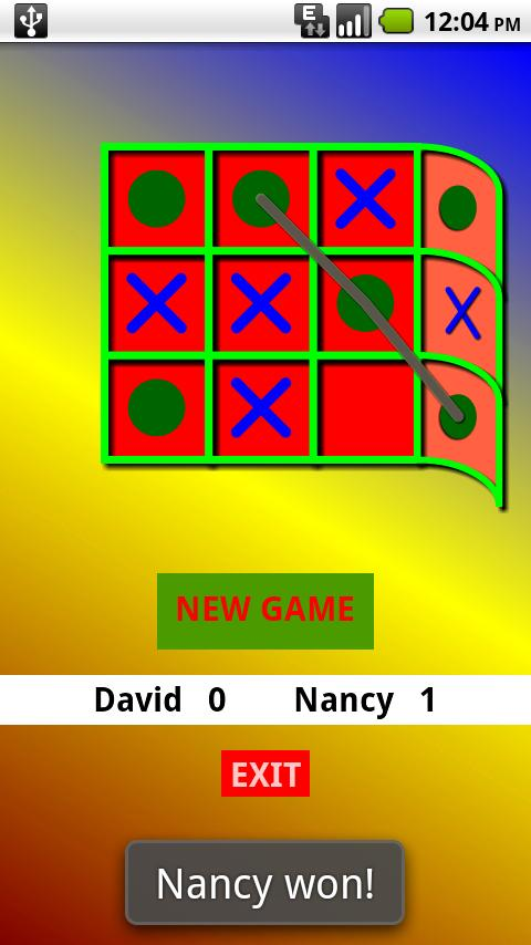 Rap-a-Tic-Tac-Toe-Pro! - screenshot