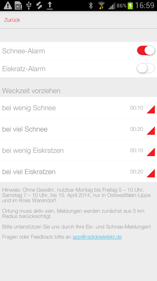Radio Westfalica - screenshot