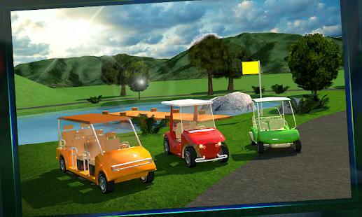 Golf Cart Simulator 3D 3