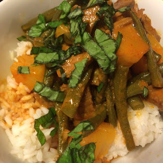 Beef and Pineapple Red Curry