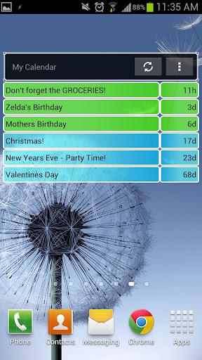 倒計時日曆