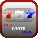 Red White Blue 777 Slot icon