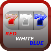 Red White Blue 777 Slot