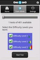 Screenshot of 400 SBAs for MedStudents Lite