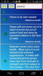 Gandhi Quotes - náhled