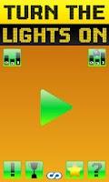 Screenshot of Turn the lights on