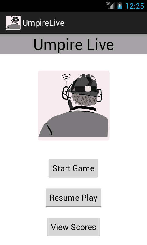 Umpire Live- screenshot