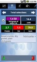 Screenshot of HelpDiabetes
