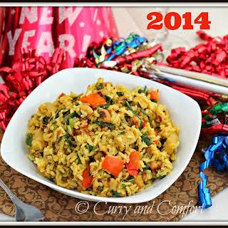 New Year Hoppin' John Good Luck Rice Pilaf.