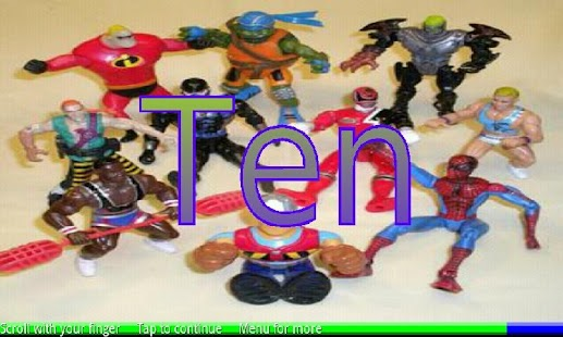 Count Action Toys 1-10- screenshot thumbnail