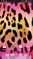 Screenshot of ADW Theme Pink Leopard